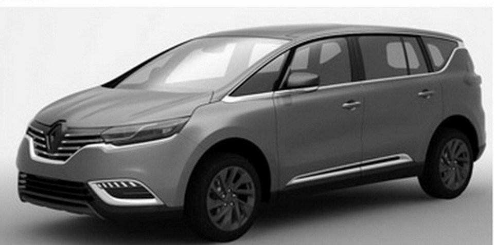 2015 Renault Espace revealed in patent images