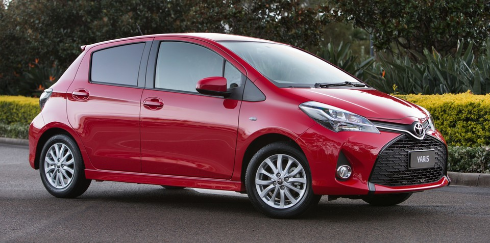 Toyota Yaris facelift revealed : Three-door hatch dropped for revised range due in September
