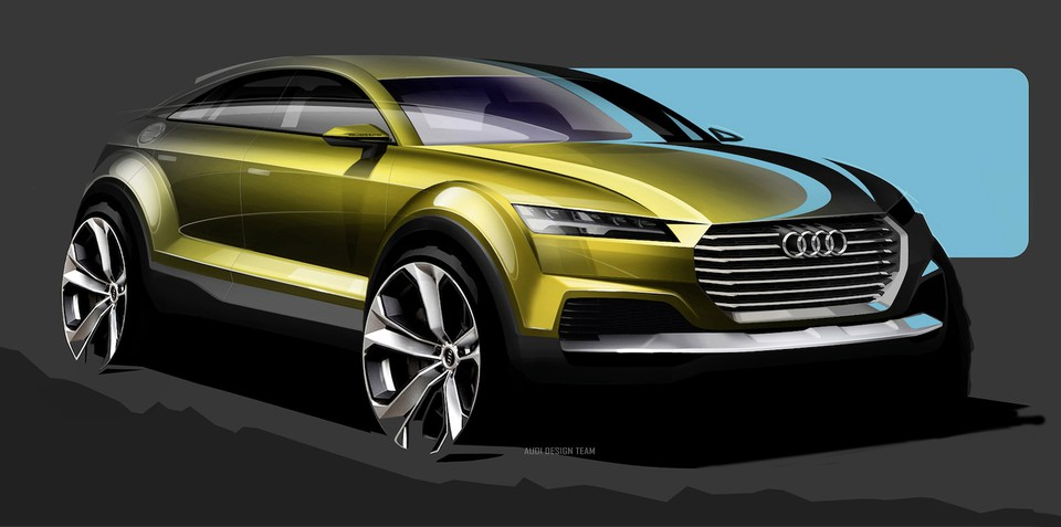 Audi TT crossover concept headed to Beijing