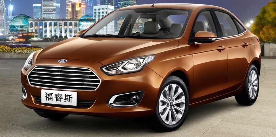 Ford Escort: Australian-designed Chinese sedan revealed