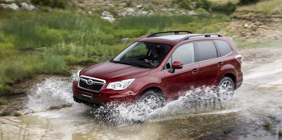Subaru Forester diesel automatic due in 2015