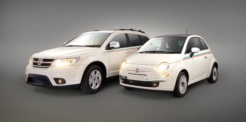 Fiat 500 and Freemont Tricolore special edition models added to local line-up