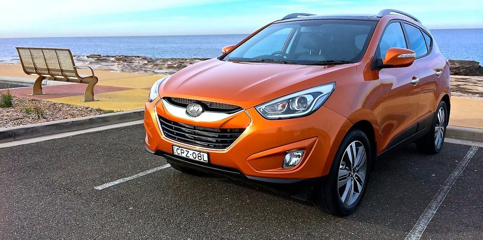 Hyundai ix35 recalled :: 32,525 small SUVs with airbag fault