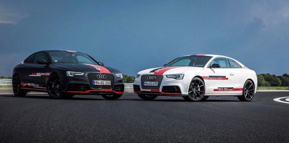 Audi RS5 TDI Concept : 750Nm diesel-electric drivetrain ready for production