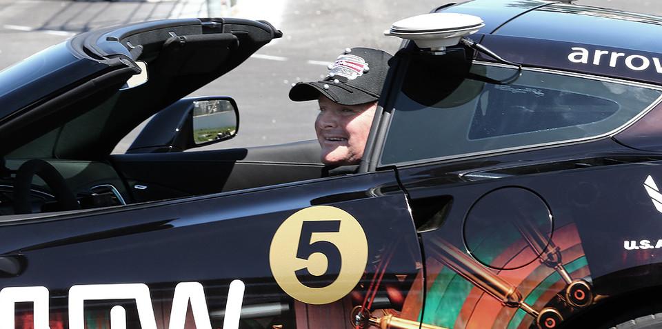 Quadriplegic race car driver will pilot car via head movements alone at Indy 500