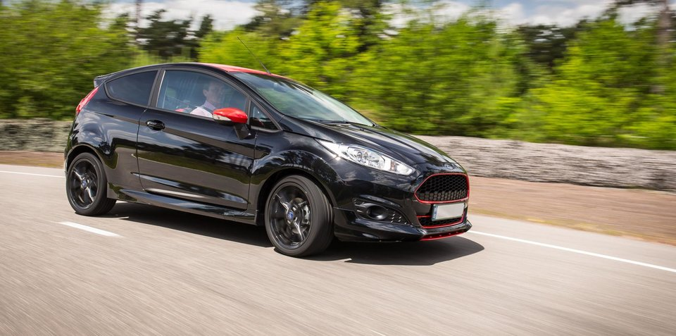 Ford Fiesta Zetec S Red and Black Edition: 102kW three-cylinder