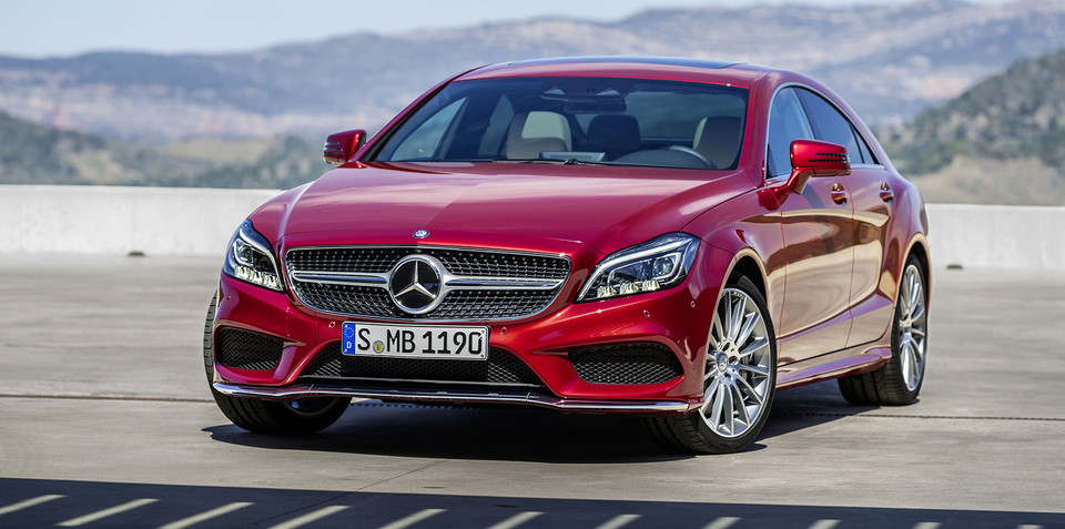 Mercedes-Benz CLS facelift brings nine-speed auto, Multibeam LED headlights