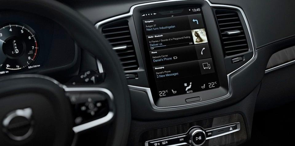 2015 Volvo XC90 :: smarter, safer infotainment system revealed