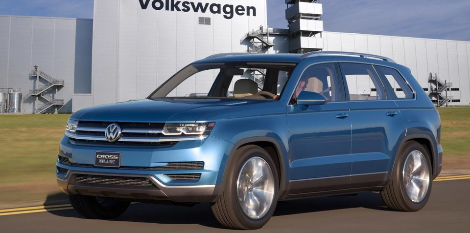 Volkswagen CrossBlue seven-seat SUV production confirmed, Australian launch no sure thing