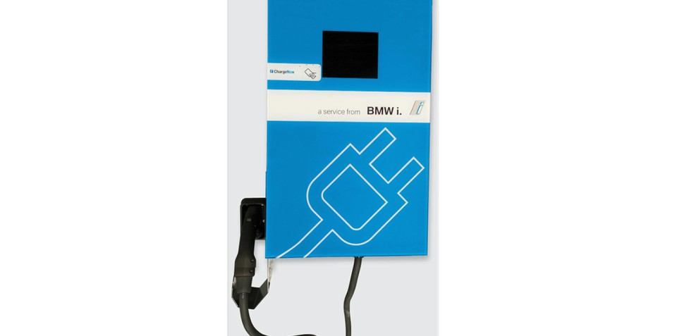 BMW i DC Fast Charger revealed : First-ever wall unit smaller, cheaper than rival systems