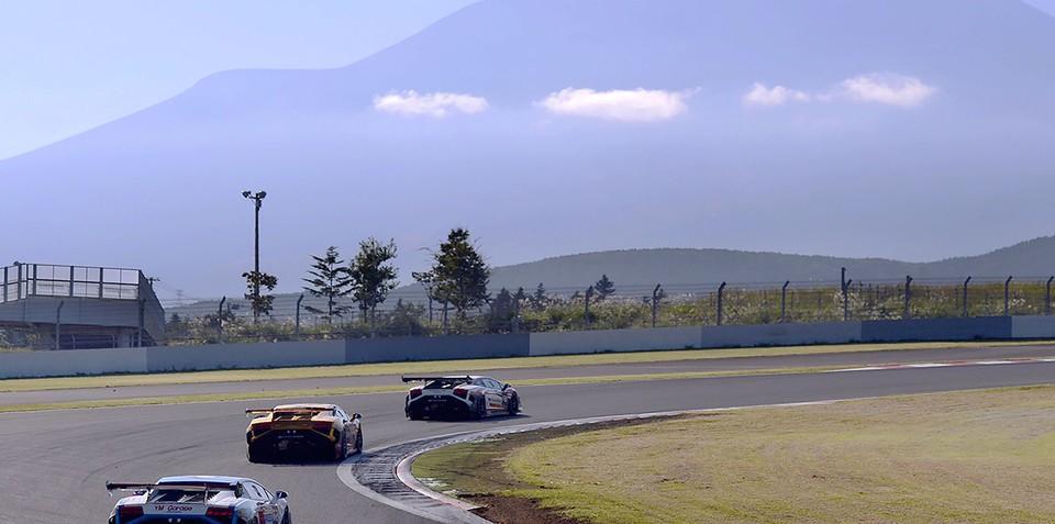 Lamborghini Huracan LP620-2 Super Trofeo to race at Japan's historic Fuji Speedway from 2015