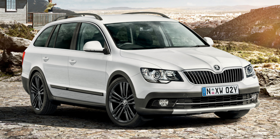 2015 Skoda Superb 4x4 Outdoor Limited Edition: Pricing for rugged wagon revealed