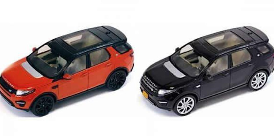 2015 Land Rover Discovery Sport scale models leaked