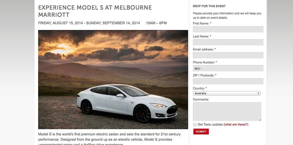 Tesla Model S : Public test drives start in Melbourne tomorrow, Sydney on Monday