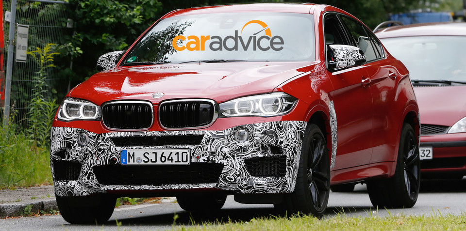 2015 BMW X6 M : New performance SUV drops camouflage