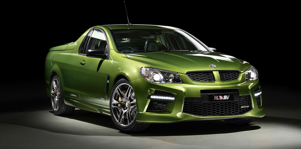 HSV GTS Maloo : world's fastest ute in waiting revealed