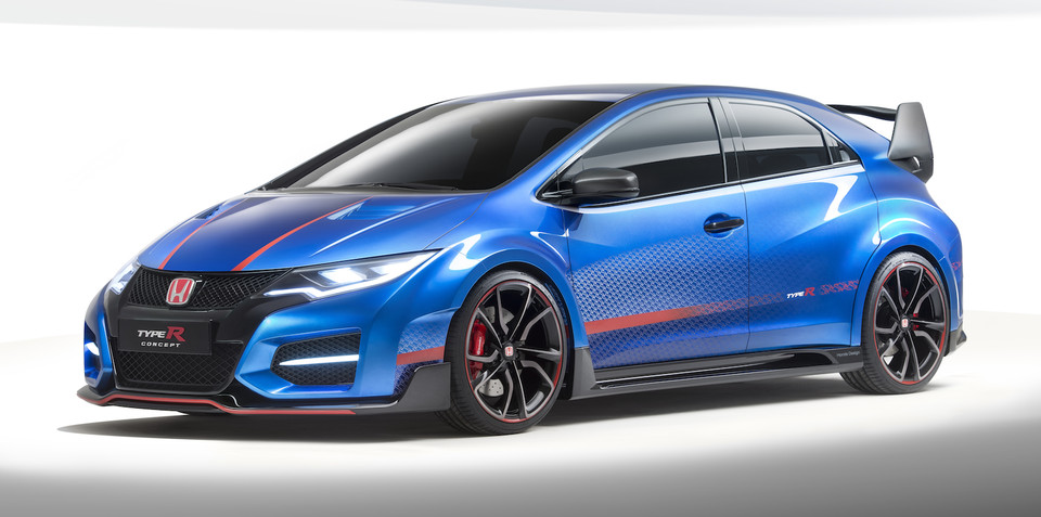 Honda Civic Type R : Updated concept previews 2015 hot-hatch