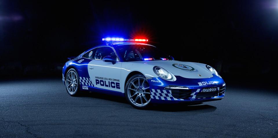 Porsche 911 cop car goes on NSW patrol