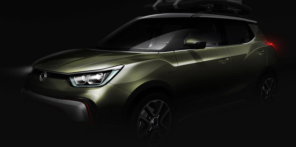 Ssangyong XIV-Air, XIV-Adventure concepts preview X100