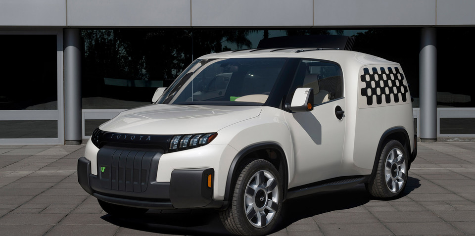 Toyota U2 Urban Utility concept mashes up ute and van