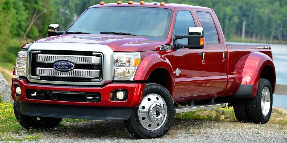 Harrison F-Trucks launches 2015 Ford F-Series Superduty range