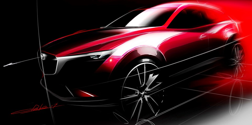 Mazda CX-3 baby SUV confirmed at last