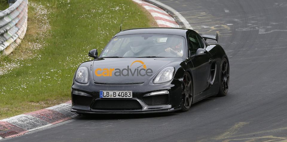 Porsche Cayman GT4 inadvertently revealed on car maker's website