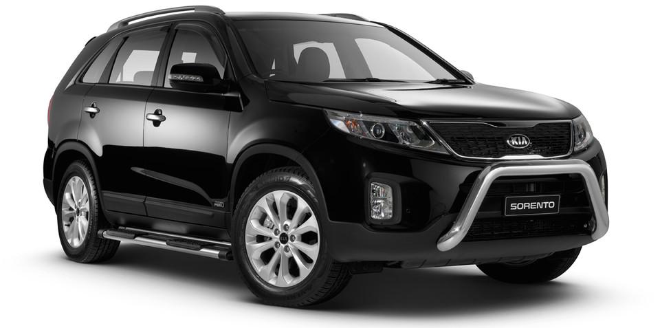 Kia Sorento :: runout SUV gets free family pack