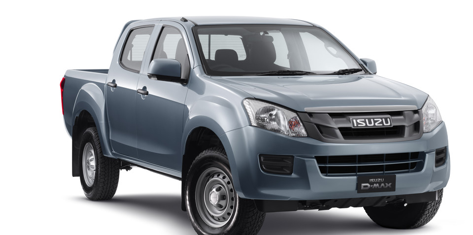 Isuzu D-MAX 4x2 Crew Cabs join five-star ANCAP list