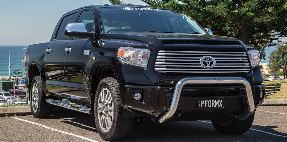 "Toyota Tundra ""on the wish list"" for Australia"