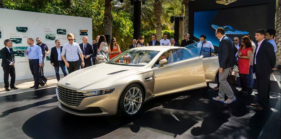 Aston Martin Lagonda Taraf will available outside Middle East, but not Australia - UPDATE