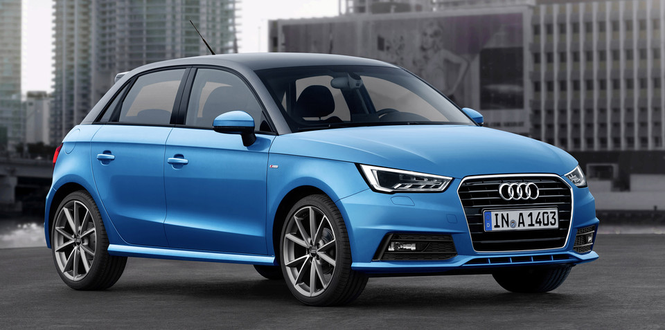 2015 Audi A1 refresh brings three-cylinder engines to the party