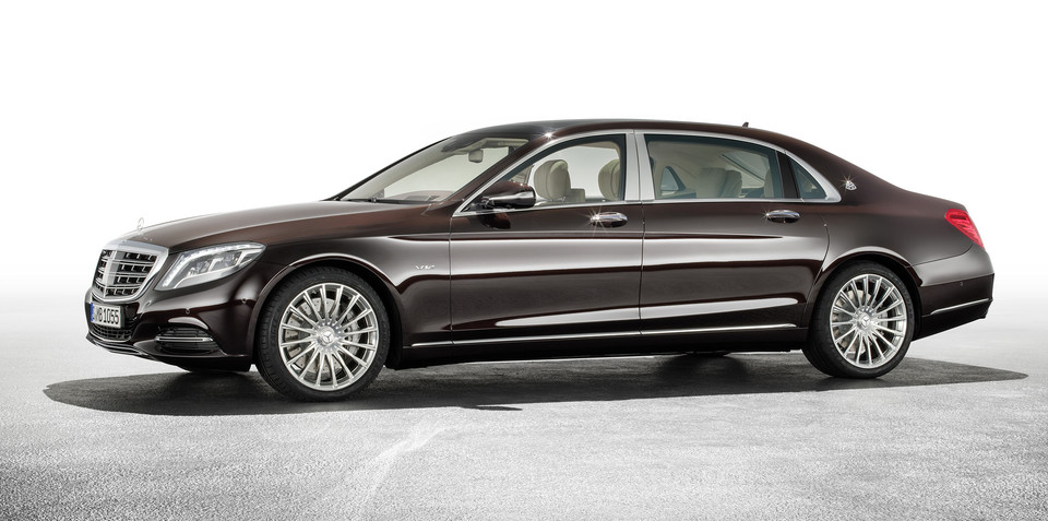 Mercedes-Maybach S-Class unveiled in LA: Stretched sedan due in Australia from late 2015