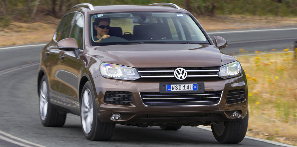 2011-2016 Volkswagen Touareg recalled for loose bearing clip