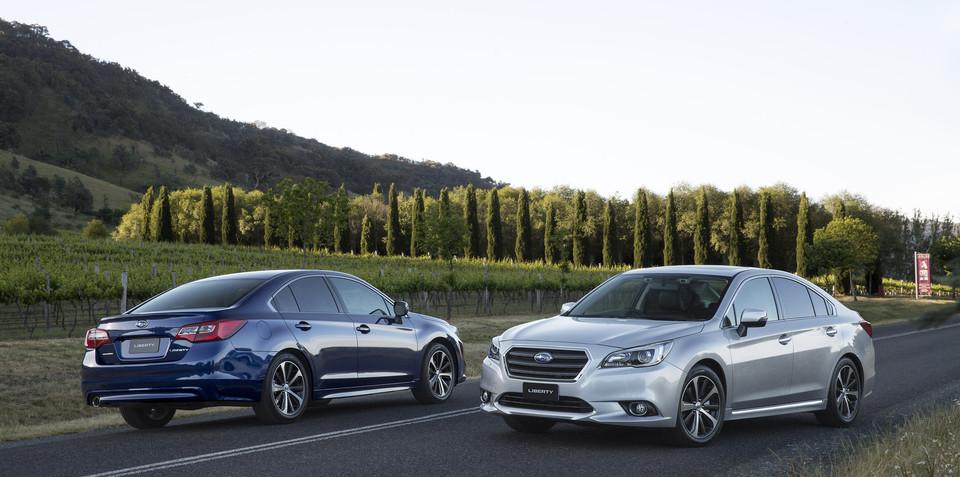 2015 Subaru Liberty : Pricing drops of up to $14,000