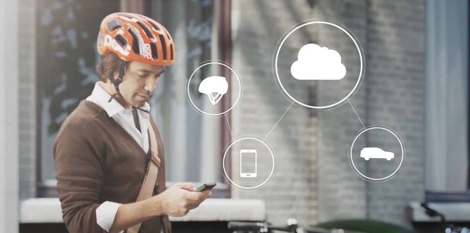Volvo, Ericsson, POC to demo connected bicycle helmet at CES