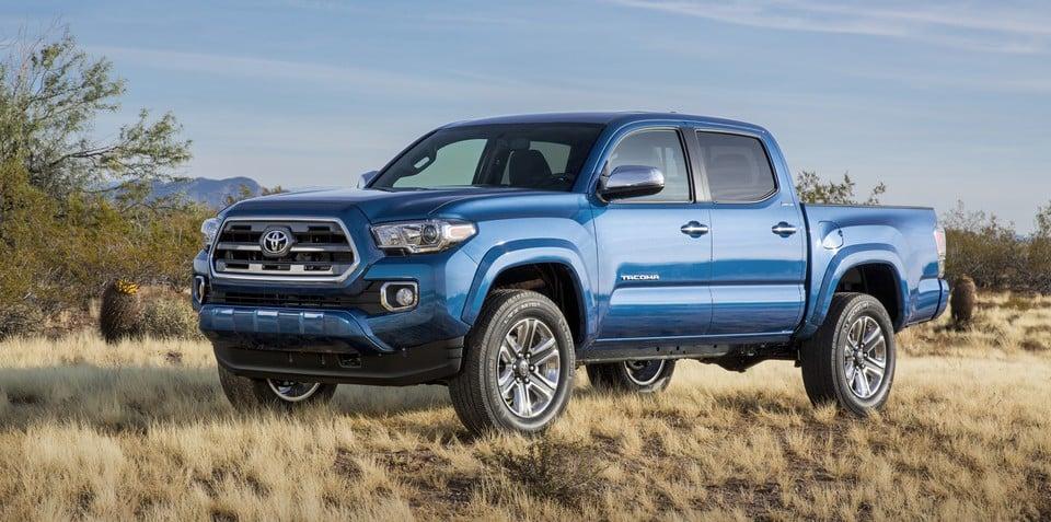 2016 Toyota Tacoma pick-up revealed ahead of Detroit motor show unveiling