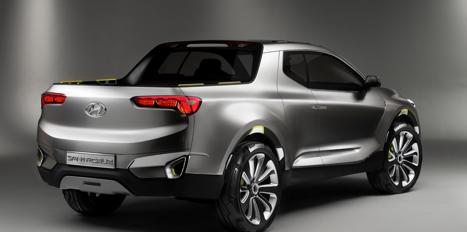 Hyundai Santa Cruz ute set for production