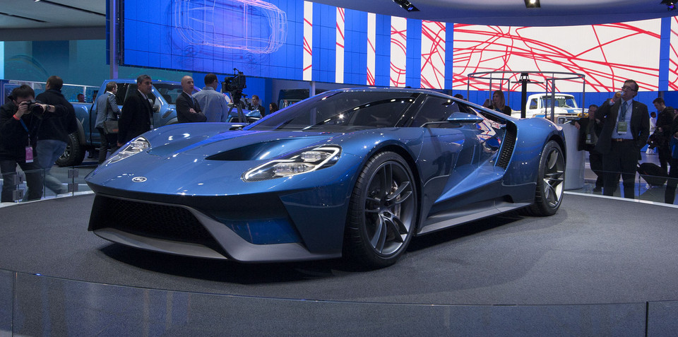 Ford GT :: Right-hand-drive business case didn't stack up, says car maker
