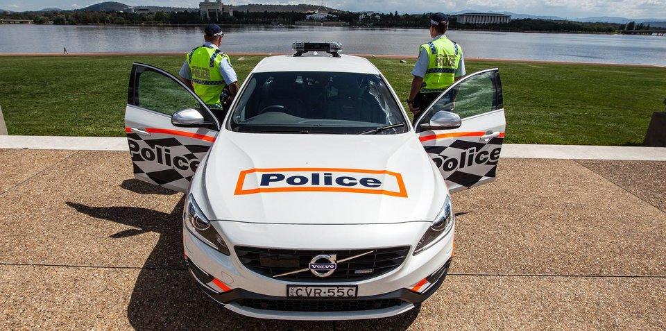 Volvo S60 T6 R-Design Polestar added to ACT Police fleet