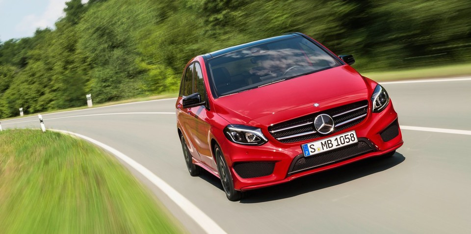 2015 Mercedes-Benz B-Class pricing and specifications