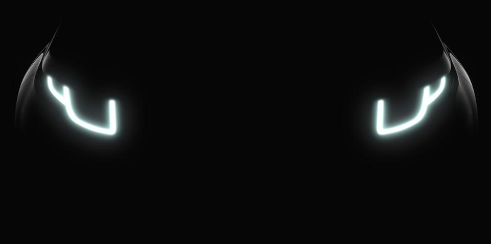 2016 Range Rover Evoque headlights teased