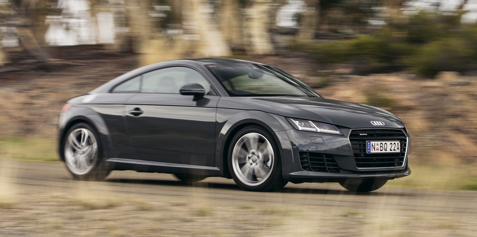 2015 Audi TT Coupe pricing and specifications