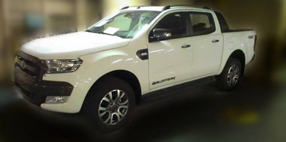 2015 Ford Ranger Wildtrak exterior and interior spied undisguised