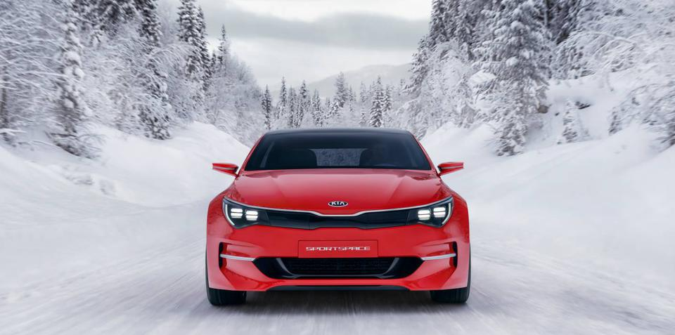 Kia Sportspace concept details released