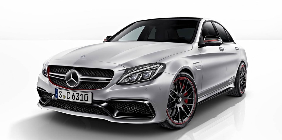 2015 Mercedes-AMG C63 Edition 1 priced from $162,800