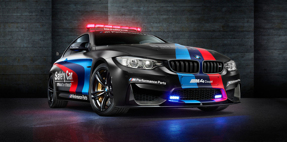BMW M4 MotoGP safety car features engine with water injection system