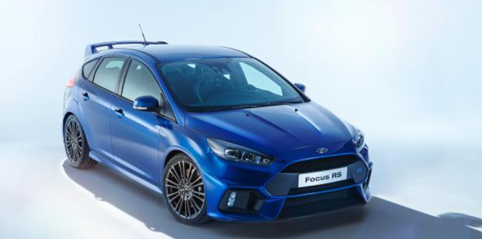 2016 Ford Focus RS pictures leaked