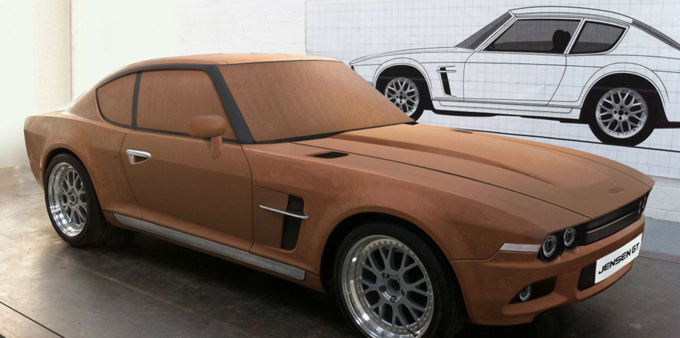 Jensen GT mixes old and new, will feature 496kW/854Nm supercharged V8