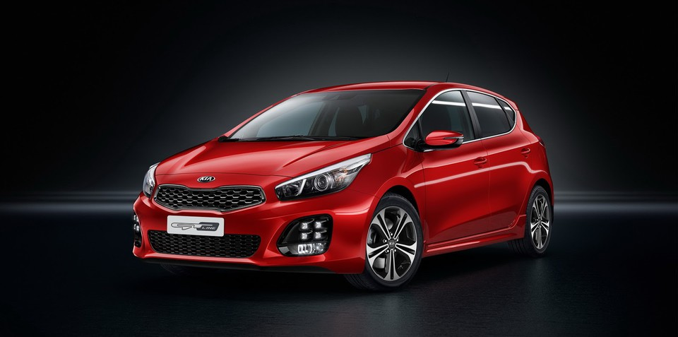 Kia Cee'd GT Line revealed with 1.0-litre three-cylinder engine, seven-speed dual-clutch gearbox